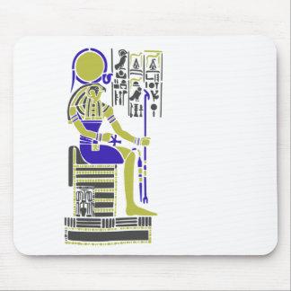 Horus the Hawk Egyption Heiroglyph Mouse Pad