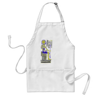 Horus the Hawk Egyption Heiroglyph Standard Apron