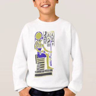 Horus the Hawk Egyption Heiroglyph Sweatshirt