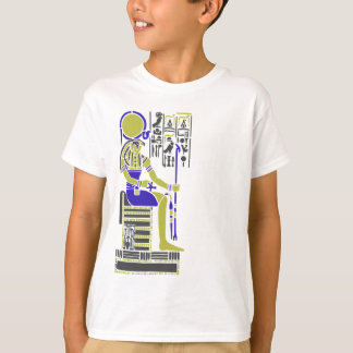 Horus the Hawk Egyption Heiroglyph T-Shirt
