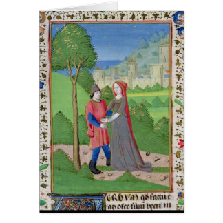 Hosea and the Prostitute, from the Bible Card