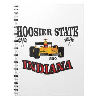 hosier state art spiral notebook