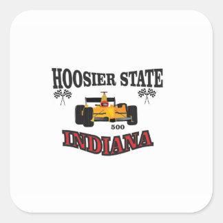 hosier state art square sticker