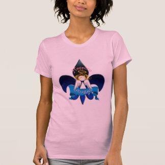 Hospice Angel Fleur de lis T-Shirt
