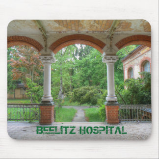 Hospital Beelitz 01.0, Lost Places Mouse Pad