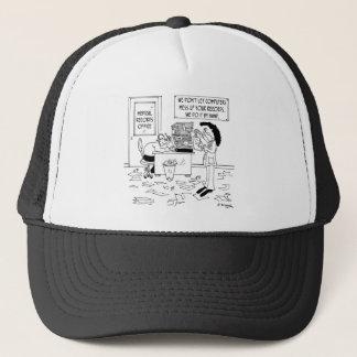 Hospital Cartoon 7117 Trucker Hat