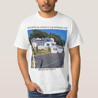 Hospital Point Lighthouse, Massachusetts T Shirt