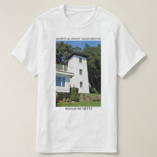 Hospital Point Lighthouse, Massachusetts T Shirts