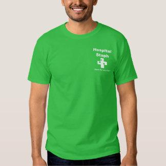 Hospital Staph (white) Tee Shirts