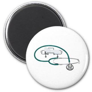 HospitalCare030609 copy 6 Cm Round Magnet