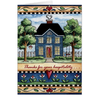 Hospitality - Greeting Card