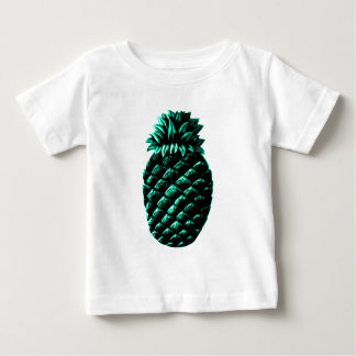 Hospitality Pineapple Cyan The MUSEUM Zazzle Gifts Baby T-Shirt