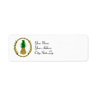 hospitality return address label