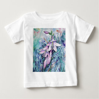 Hosta in bloom baby T-Shirt