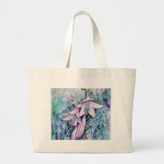Hosta in bloom large tote bag