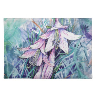 Hosta in bloom placemat