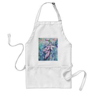 Hosta in bloom standard apron