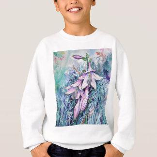 Hosta in bloom sweatshirt