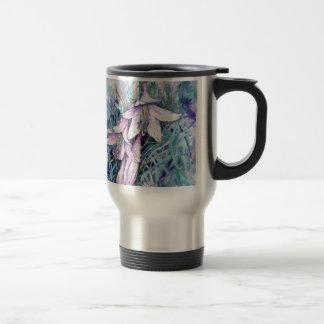 Hosta in bloom travel mug