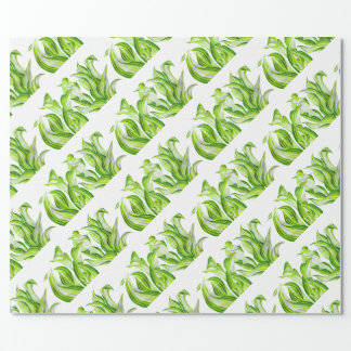 'Hosta with the Mosta' on a Wrapping Paper
