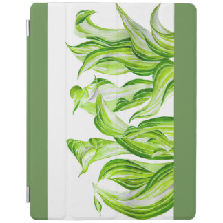 'Hosta with the Mosta' on an iPad Cover