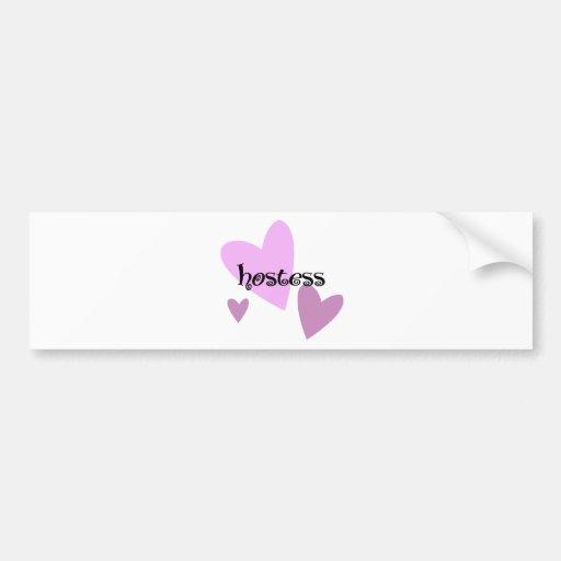 Hostess Bumper Sticker