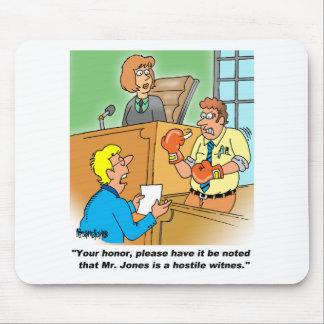 HOSTILE WITNESS MOUSE PAD