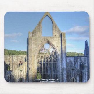 Hostoric Tintern Abbey Cistercian Monastery Wales Mouse Pad
