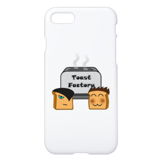 Hosts Toastie White iPhone Cover