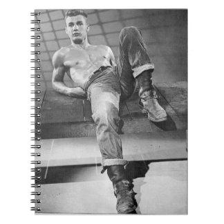 Hot 50s Man Notebook