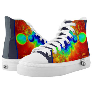 Hot Abstract High Tops