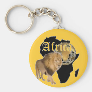 """Hot  """"Africa"""" Flag T-shirt,  And Etc ( Basic Round Button Key Ring"""