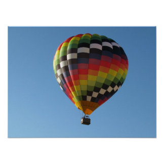 Hot Air Balloon 2 Poster