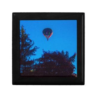 Hot Air Balloon 3 Small Square Gift Box
