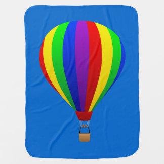 hot air balloon blanket