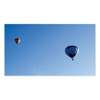Hot air balloon pack of standard business cards