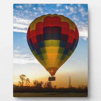 Hot Air Balloon Display Plaque