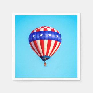 Hot Air Balloon Disposable Serviette