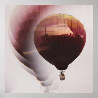 Hot Air Balloon Dreams Poster