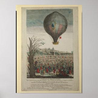 Hot-Air Balloon Experiment Poster