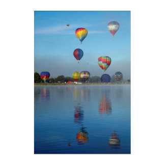 Hot Air Balloon Festival Acrylic Print