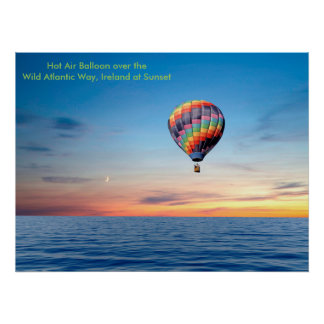 Hot Air Balloon image for poster