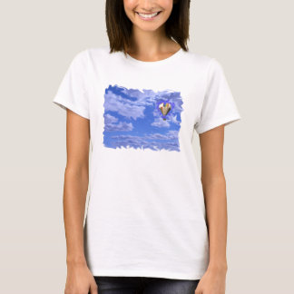 hot air balloon in clouds T-Shirt