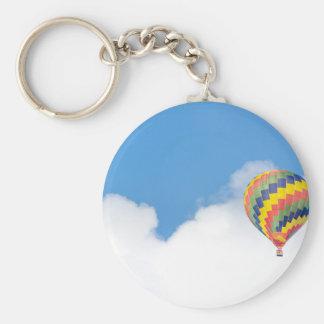 hot-air-balloon key ring