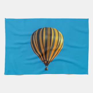 Hot air balloon kitchen towel