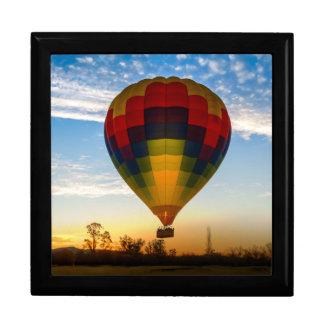 Hot Air Balloon Large Square Gift Box