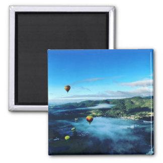 Hot Air Balloon Magnet - Napa Valley