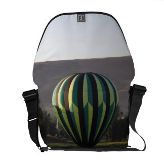 Hot air balloon over the Yakima River 2 Messenger Bag