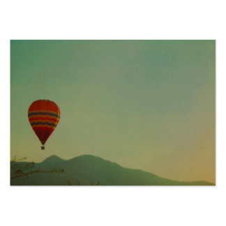 hot air balloon pack of chubby business cards
