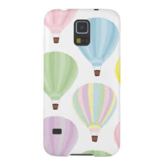 Hot Air Balloon Pastel Pattern Cases For Galaxy S5